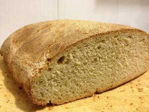 pane di grano duro e farro
