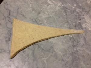 tiratura del triangolo