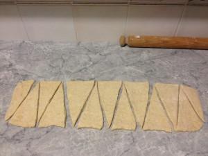 taglio dei triangoli